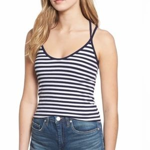 🌷3 for $15!🌷 BP Striped Ribbed Strappy Tank